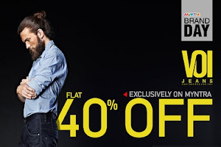 Enjoy Flat 40% OFF on VOI Jeans at Myntra