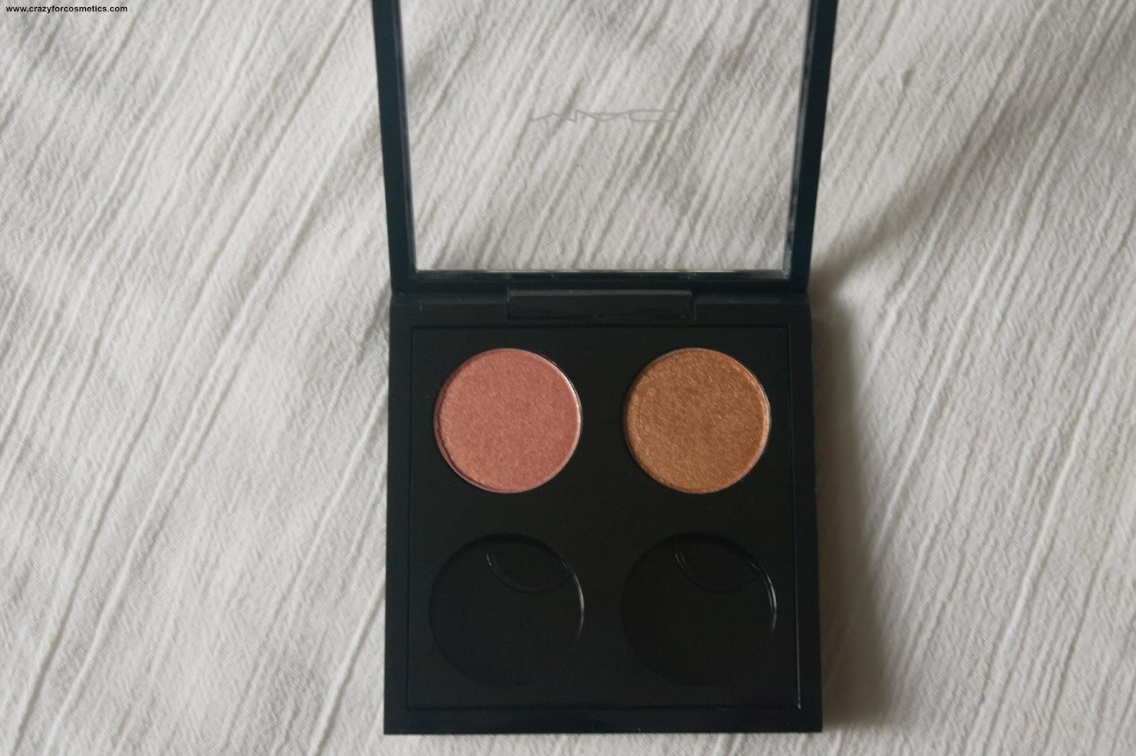 MAC eyeshadow Expensive Pink-MAc eyeshadow amber lights