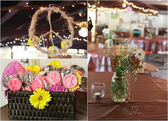Positiva creativa como decorar una fiesta hippie - Fiestas hippies decoracion ...