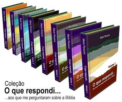 """Coleção """"O que respondi"""""""