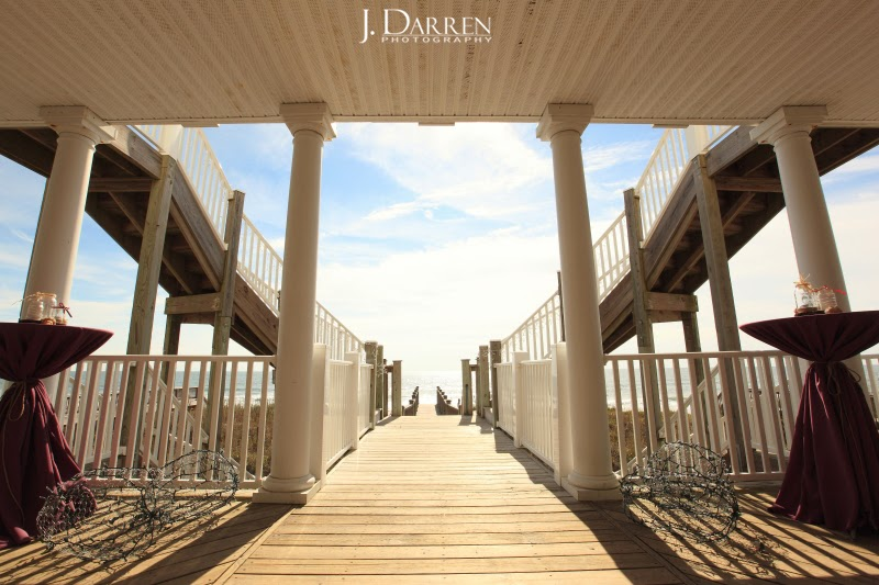 Topsail Island Beach Wedding NC