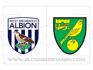 Prediksi Pertandingan Norwich City vs West Bromwich Albion