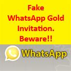 Fake-WhatsApp-Gold-invitation