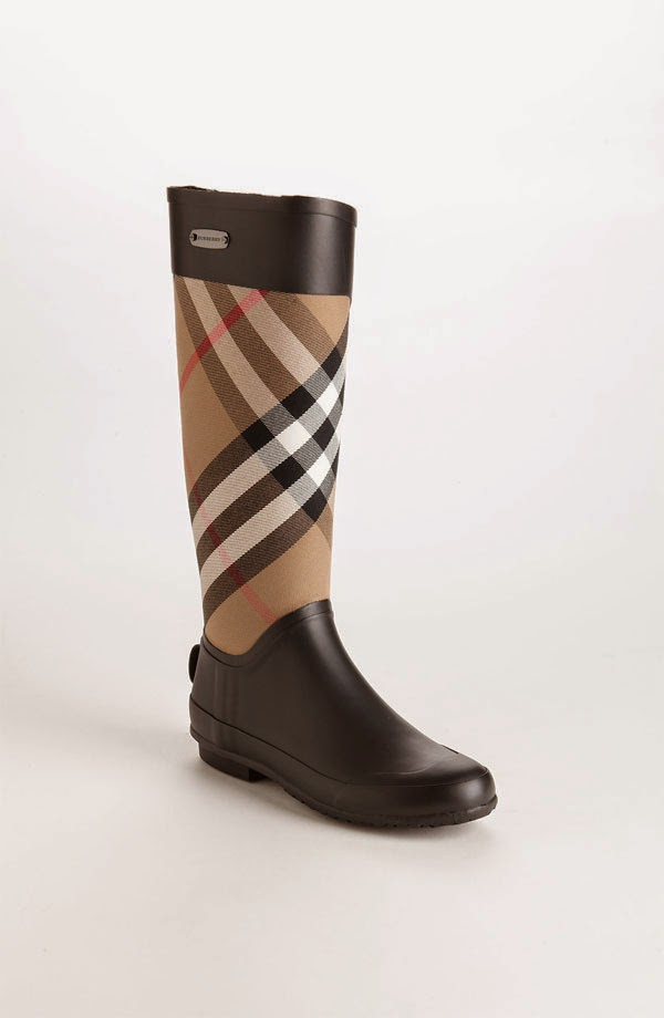 Burberry Clemence Rain Boot Preppy Girl