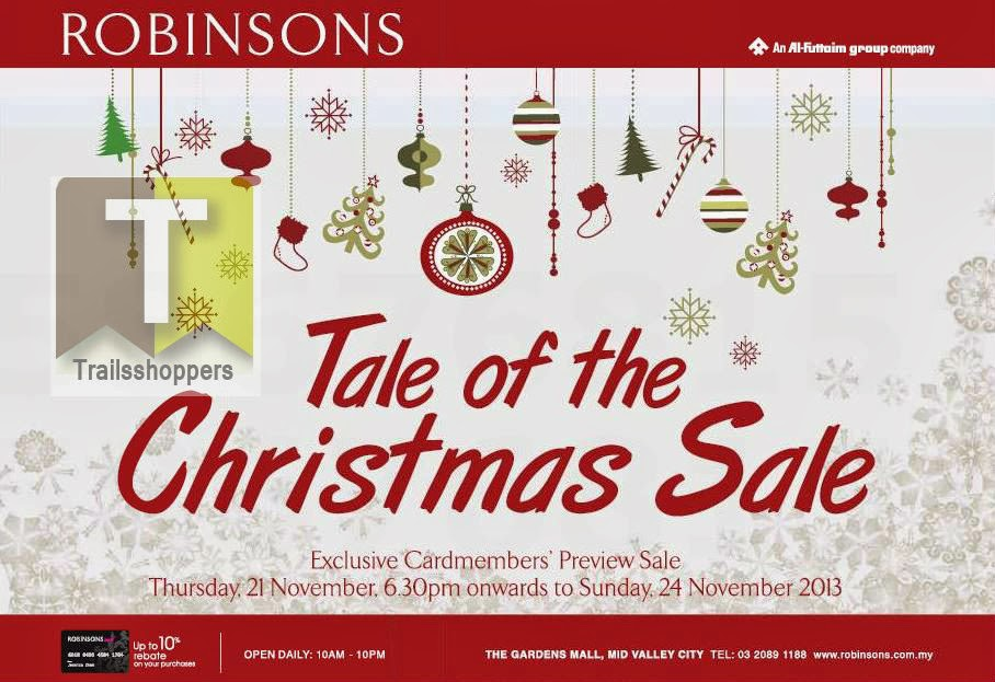 Robinsons Tale of The Christmas Sale 2013