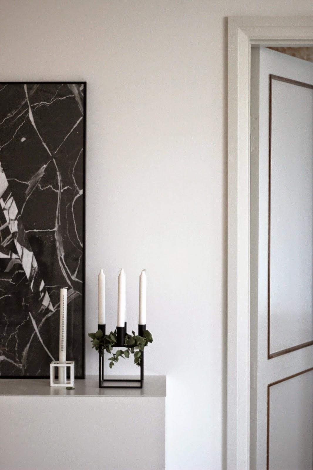 kubus 4 advent decoration, scandinavian christmas, minimalistic christmas via http://www.scandinavianlovesong.com/
