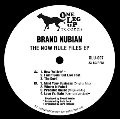 Brand Nubian – The Now Rule Files EP (Vinyl) (2009) (VBR)