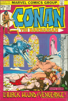 Conan the Barbarian 20, Barry Smith