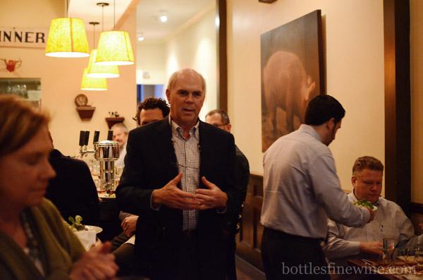 Julian Van Winkle III Pappy Bourbon Dinner