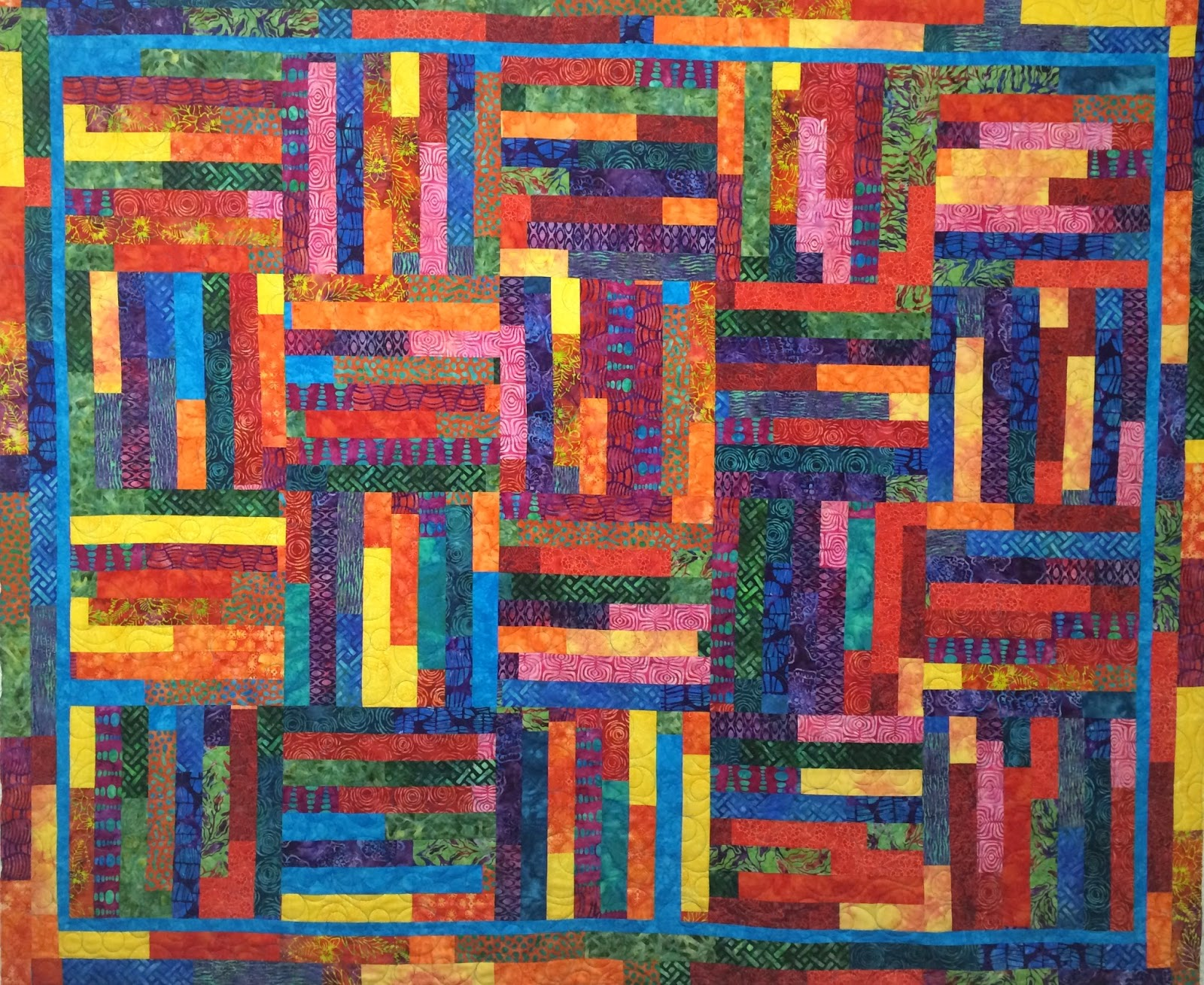 Kathleen Kurdziel's Very Berry Quilt