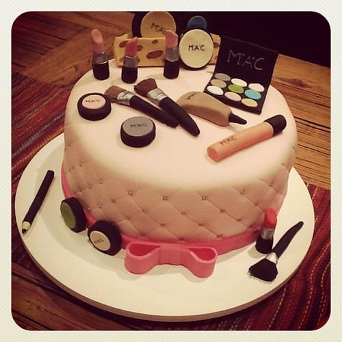 Happy Birthday Cake For Artist