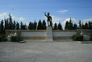 Modern Monument at Thermopylae