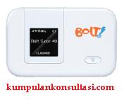 akses internet cepat BOLT Mobile WiFi MAX untuk kumpulan konsultasi blog