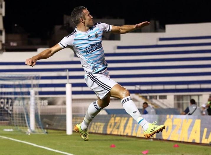 Hasil Kualifikasi Liga Eropa: Atromitos 0-1 Fenerbahce, Van Persie Cetak Gol Tunggal