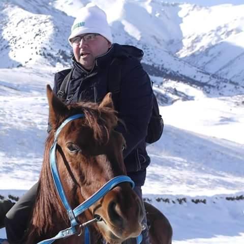 In Kazakhstan winter 2015