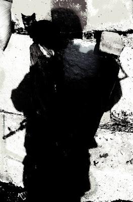 Тінь з напарницею, Вуглегірськ.