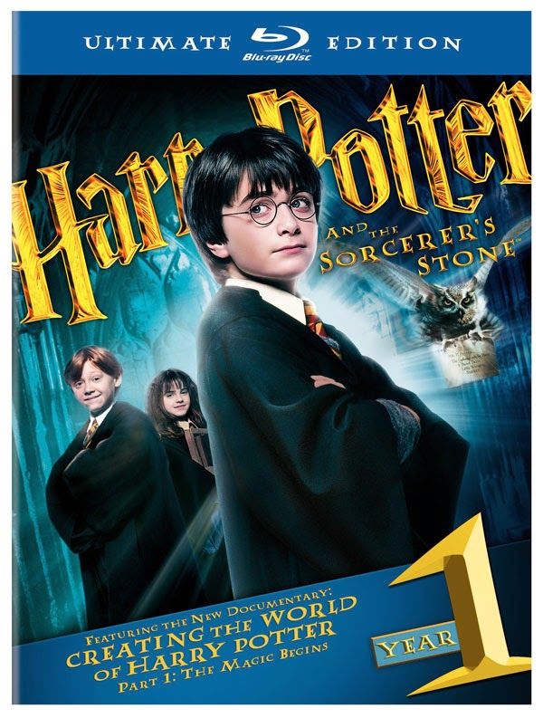 Harry Potter and The Sorcerer's Stone (2001) BluRay 720p + Subtitle Indonesia