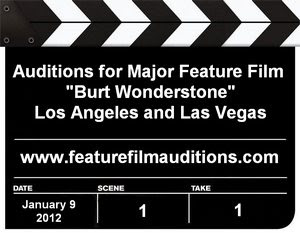 Burt Wonderstone Auditions Casting Calls