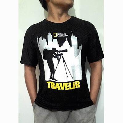Kaos Distro National Geographic Lengan Pendek