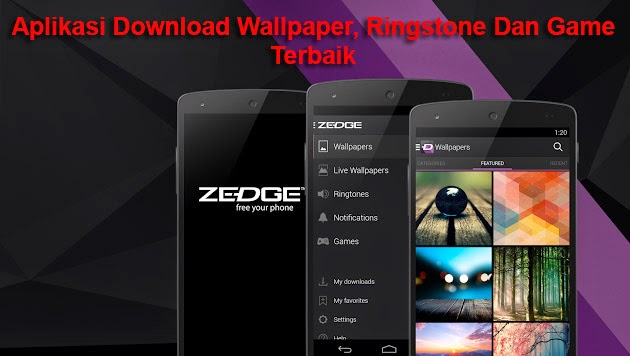 Aplikasi Download Wallpaper, Ringstones, Game Terbaik