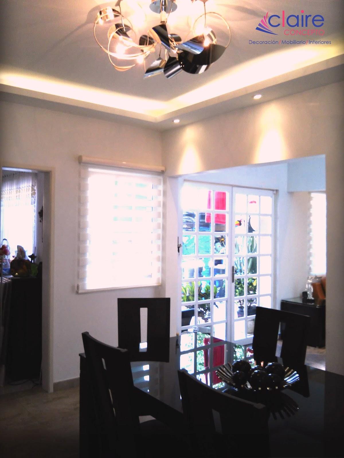 Remodelaci n de casas plafones de tablaroca muebles for Plafones de pared exterior