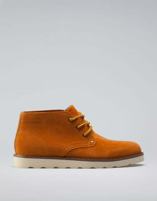 boots mustard color