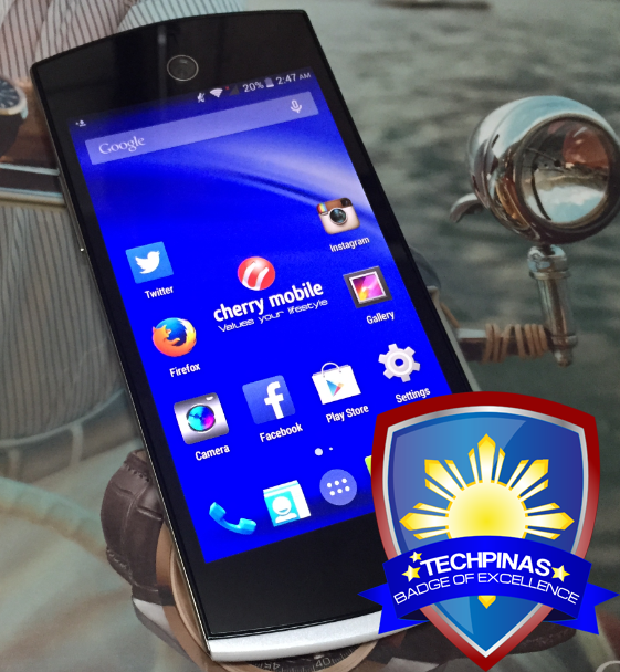 Cherry Mobile Selfie, TechPinas Badge of Excellence