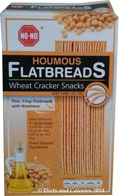 No No Houmous flatbreads