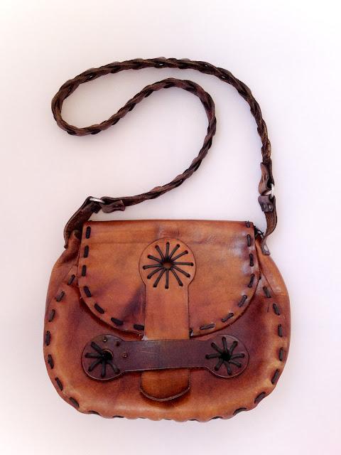 bolso vintage cuero