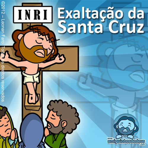 Exaltação da Santa Cruz desenho