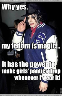 Michael Jackson Fedora Magic Meme