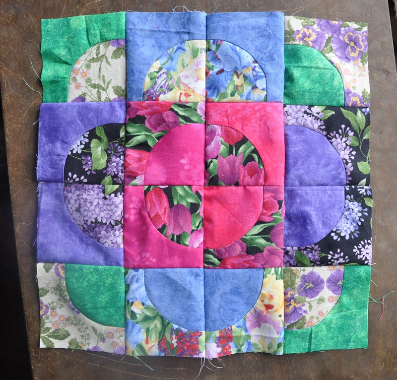 Quilt Patterns With Y Seams : The Quilt and Needle Blog: Curved seams