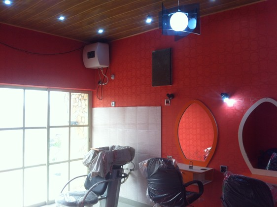 Kelly Hansome opens Beauty Salon and Spa in Port Harcourt