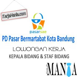 Lowongan Kerja PD. Pasar Bermartabat Kota Bandung
