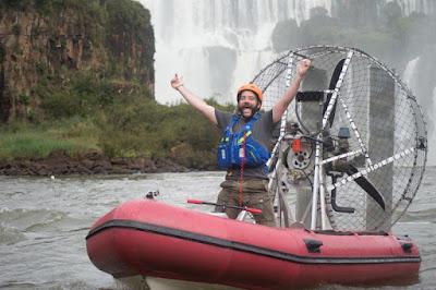 Jimmy de Ville nas Cataratas do Iguaçu - Divulgação