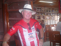 Me in Donde Fidel Bar, Cartagena