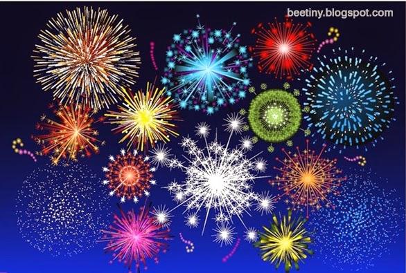 Bạn tha hồ lựa chọn cho mình những mẫu pháo hoa ưng í nhất cho mẫu thiết kế dịp năm mới của mình.