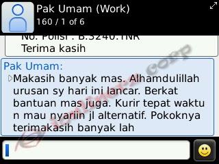 Testimoni Kurir Online Jakarta | expression