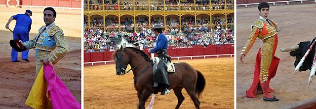 Toros Aranjuez Enrique Ponce, Hermoso de Mendoza y Alvaro Lorenzo