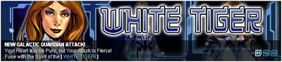 White Tiger banner from Superhero City