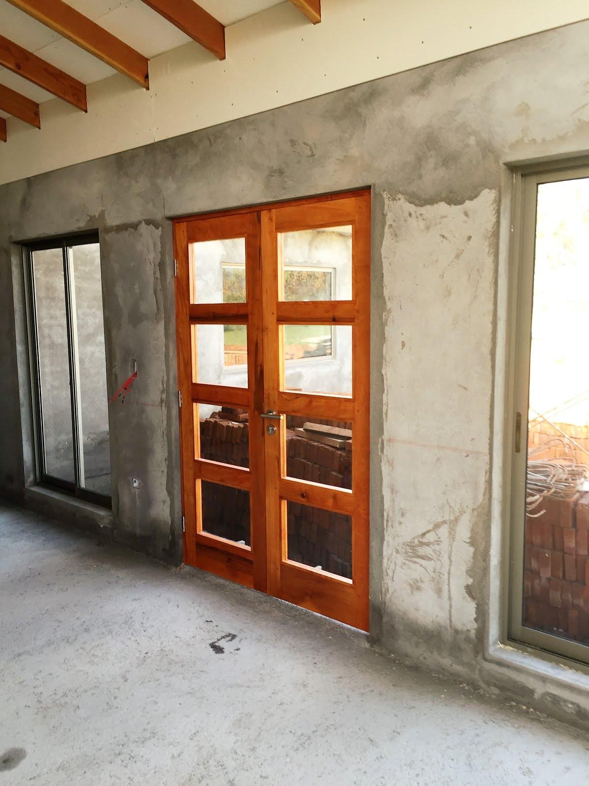Puerta doble hoja vidriada - Puertas doble hoja ...
