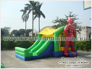 Istana Balon Spiderman 4x6