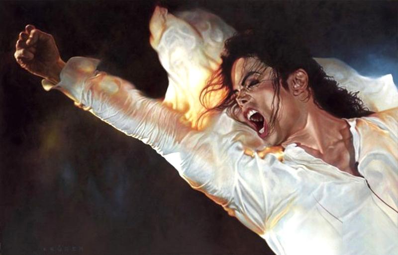 Michael Jackson - New Pop Realism - Sebastian Krüger 1963