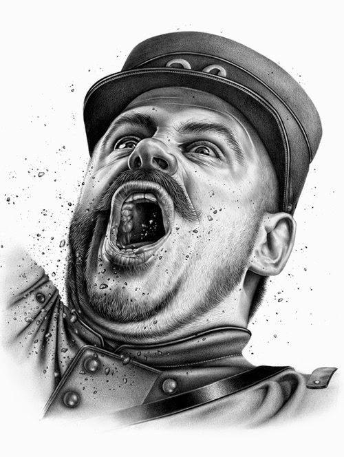 12-La-Grande Guerre-Violaine-Orsoni-&-Jérémy-Schneider-Drawings-www-designstack-co