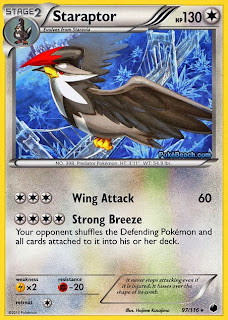 Staraptor Plasma Freeze Pokemon Card