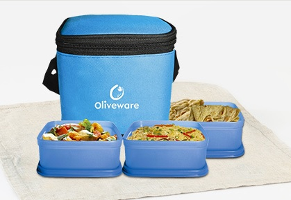 Oliveware lunch boxes