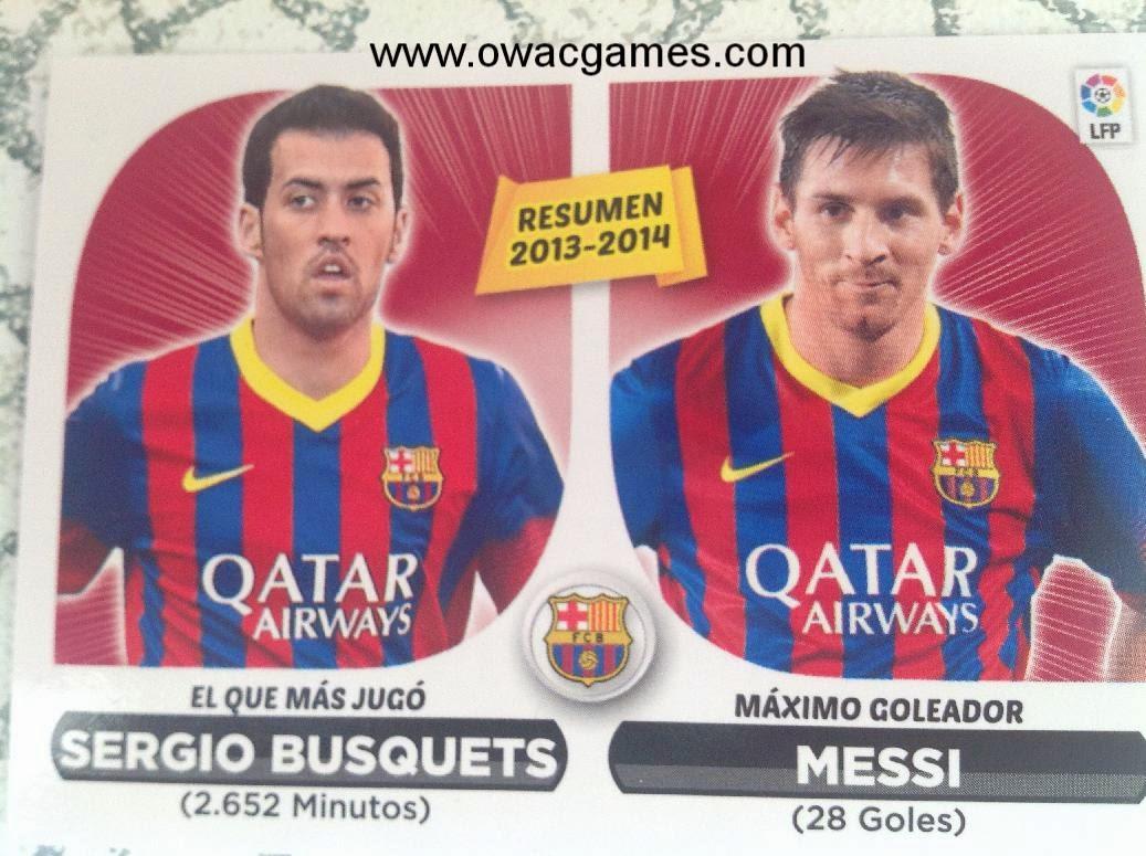 Liga ESTE 2014-15 resumen Barcelona