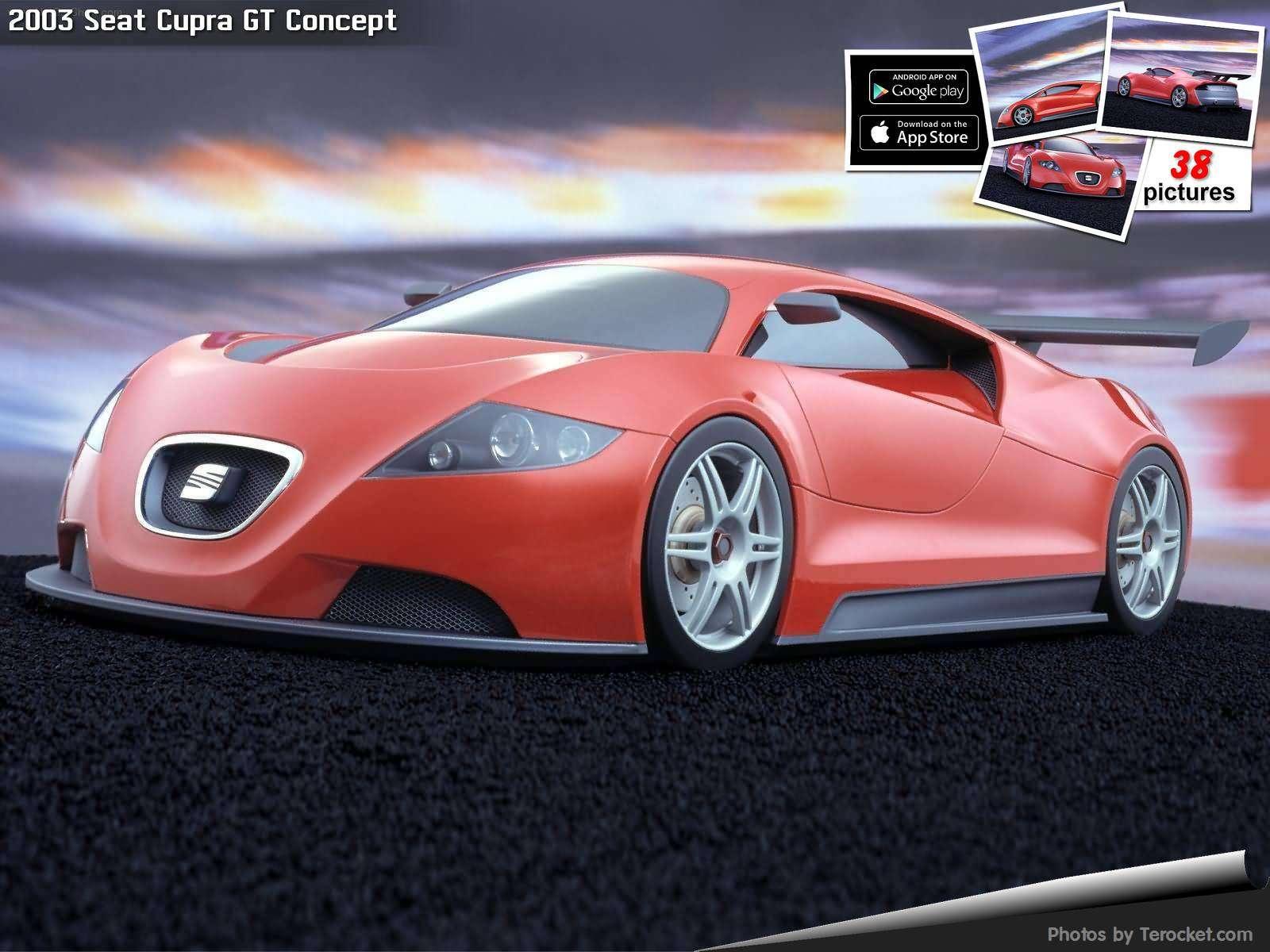 Hình ảnh xe ô tô Seat Cupra GT Concept 2003 & nội ngoại thất