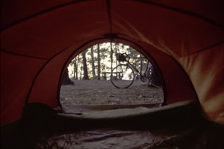 Tenting on the Chickahominy River