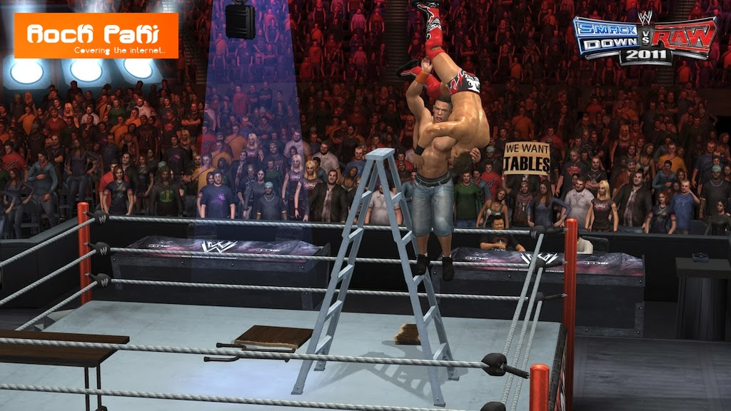 WWE Smack Down Vs Raw 2011